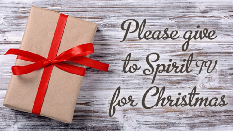 Please Give To Spirit tv This Christmas