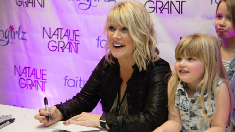 Natalie Grant book signing